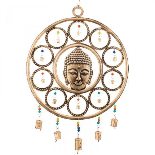 Circular Buddha Windchime