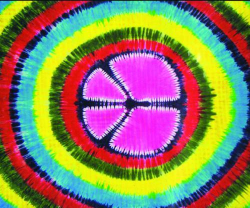Peace Tie Dye Dbl Tapestry