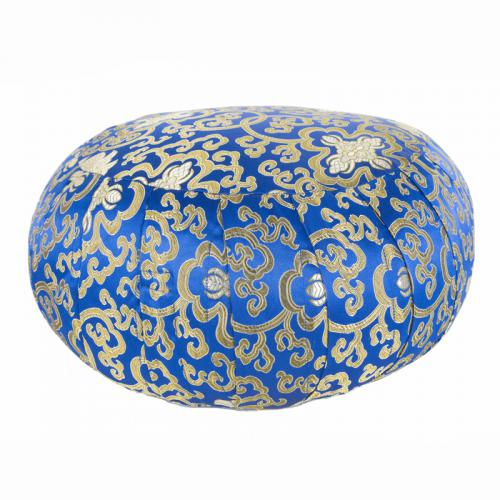 Gold And Blue Meditation Pillow