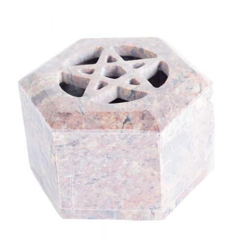 Soapstone Star Box